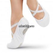 Балетки для танцев белые