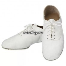 Чешки белые на шнурках на антискользящей подошве